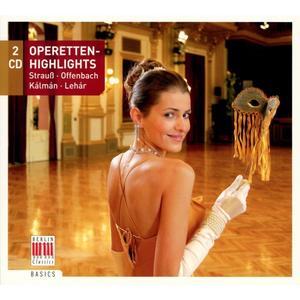 Musik-CD Operetten-Highlights / Various, (2 CD)