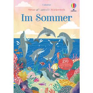 Meine glitzernde Stickerwelt: Im Sommer