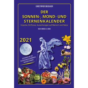 Der Sonnen-, Mond- und Sternenkalender 2021