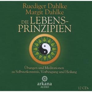 Dahlke,Rüdiger/Dahlke,Margit - Die Lebensprinzipien-Wege Zu Selbsterkenntnis - 12 CD