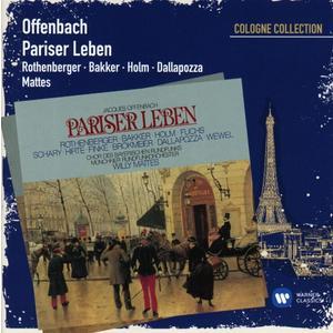 Musik-CD Pariser Leben / Rothenberger,Anneliese/Bakker,Marco/Mattes,Willy, (2 CD)