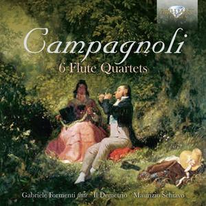 Ensemble Il Demetrio - Campagnoli-6 Flute Quartets - 1 CD