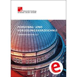 Personal- und Vorlesungsverzeichnis