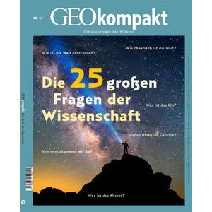 GEOkompakt / GEOkompakt 65/2020 - Die 25 großen Fragen der Wissenschaft