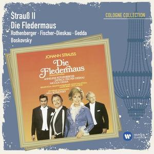 Musik-CD FLEDERMAUS,DIE / ROTHENBERGER/GEDDA/BOSKOVSKY, (2 CD)