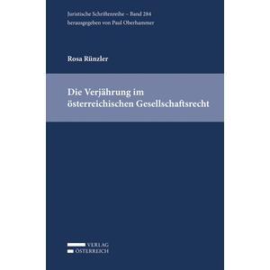Die Verjährung im österreichischen Gesellschaftsrecht
