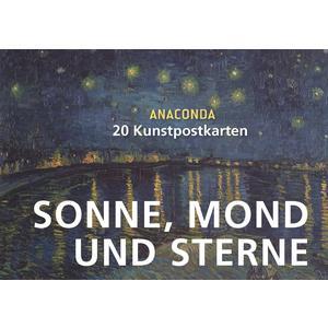 Postkartenbuch Sonne, Mond und Sterne