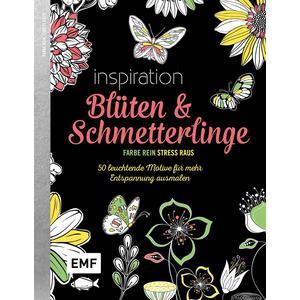 Black Edition: Blüten und Schmetterlinge