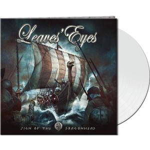 Leaves' Eyes - Sign Of The Dragonhead (Gtf.White Vinyl) - 1 Vinyl-LP