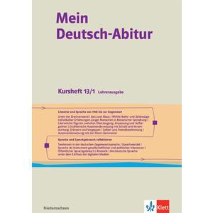 Mein Deutsch-Abitur. Ausgabe Niedersachsen