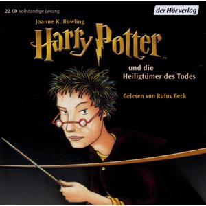 Beck,Rufus - (7)Harry Potter Und Die Heiligtümer Des Todes RL - 22 CD