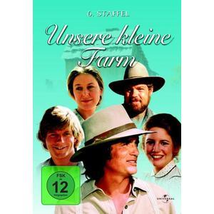 Michael Landon,Karen Grassle,Melissa Gilbert - Unsere Kleine Farm S 6 - 6 DVD