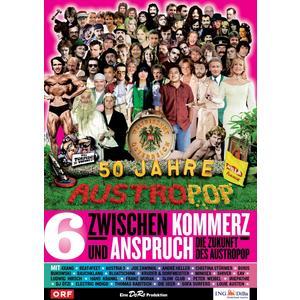 Musik-CD Folge 06: Kommerz und Anspruch-Die Zukunft des A / 50 Jahre Austropop, (1 DVD-Video Album)