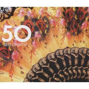 Musik-CD 50 Best Operetta / Various, (3 CD)
