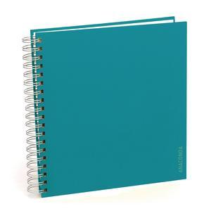 Fotoalbum, blau