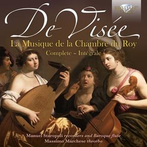 Staropoli/Marchese/Ippolito/Tomadin/Contadin/Cavas - Complete Musique De La Chambre Du Roy - 4 CD