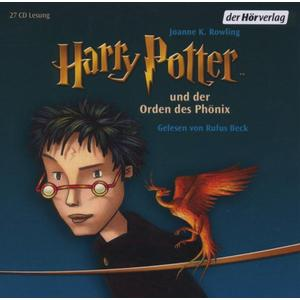 Beck,Rufus - (5)Harry Potter Und Der Orden Des Phönix RL - 27 CD