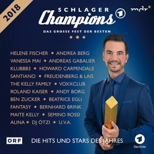 Diverse Pop - SCHLAGER CHAMPIONS 2018 - DAS GROSSE FEST DER... - 2 CD