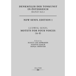 Ludwig Senfl. Motets For Four Voices (A-I)