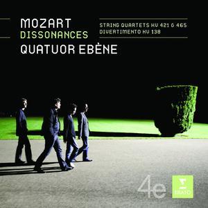 Musik-CD Streichquartette KV 421,465 / Quatuor Ebene, (1 CD)