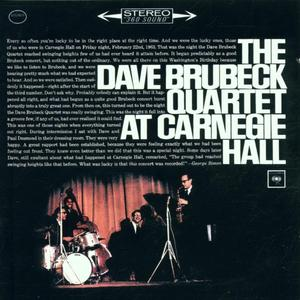 Musik-CD AT CARNEGIE HALL / BRUBECK, DAVE, QUARTET, THE, (2 CD)