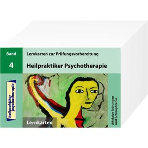 Heilpraktiker Psychotherapie - 200 Lernkarten - Affektive Störungen und Schizophrenie (Teil 4)