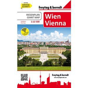 Wien, Riesenplan, Stadtplan 1:12.500