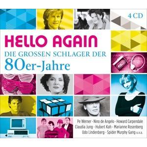 Diverse Volksmusik/Schlage - HELLO AGAIN - DIE GROSSEN SCHLAGER DER 80ER-JAHRE - 4 CD