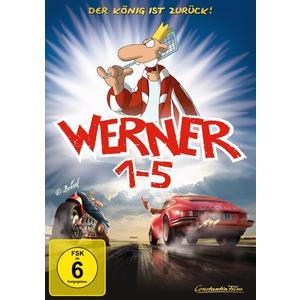 Keine Informationen - Werner 1-5 Königbox - 5 DVD