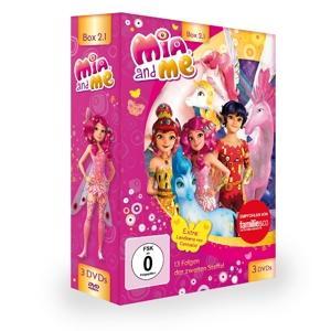 Mia And Me - Box 1-Staffel 2,Folge 1-13 - 3 DVD