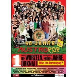 Musik-CD Folge 01: Die Wurzeln-Frühe Jahre / 50 Jahre Austropop, (1 DVD-Video Album)