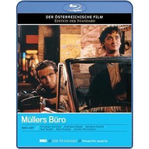 Schmidt,Christian/Vitasek,Andreas/Rudnik,Ba - Müllers Büro (Regie: Niki List) - 1 Blu-Ray