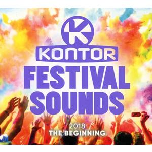 Various - Kontor Festival Sounds 2018-The Beginning - 3 CD