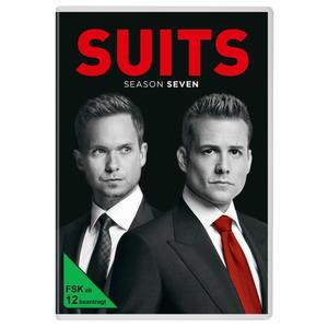 Gabriel Macht,Patrick J.Adams,Rick Hoffman - Suits-Season 7 - 4 DVD