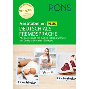 PONS Verbtabellen Plus Deutsch als Fremdsprache