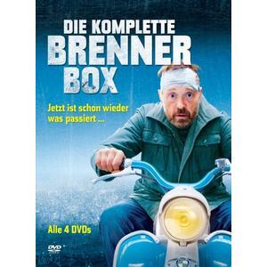 Hader,Josef/Murnberger,Wolfgang/Haas,Wolf - Die komplette Brenner Box - 4 DVD