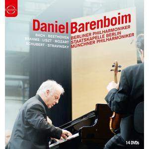 Musik-CD Daniel Barenboim Box / Barenboim,Daniel/BP/SB/MP, (14 DVD-Video Album)