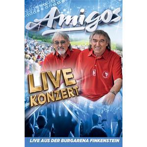 Musik-CD Live Konzert-Teil 1 & 2-Live aus der Burgarena / Amigos, (2 DVD-Video Album)
