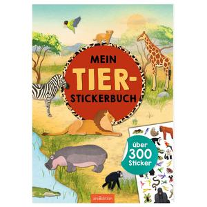 Mein Tier-Stickerbuch