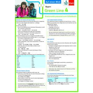 Klett Green Line 4 Bayern Klasse 8 Auf einen Blick