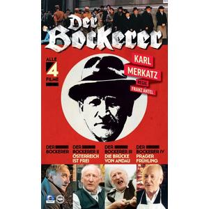 Merkatz,Karl - Der Bockerer: Teil 1-4 - 2 DVD