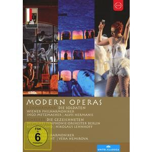Moderne Opern Des 20.Jahrhunderts / Metzmacher/Nagano/Albrecht/WP/DSOB