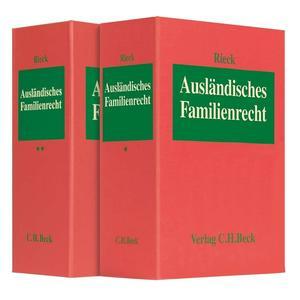 Ausländisches Familienrecht