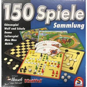 Spielesammlung 150er Spielesammlung, schwarz