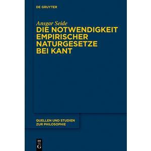 Die Notwendigkeit empirischer Naturgesetze bei Kant