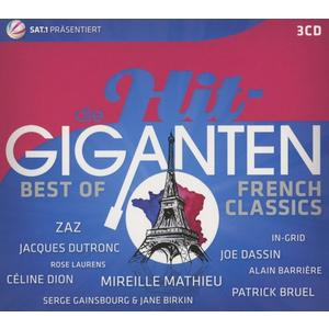 Die Hit Giganten Best Of French Classics (Arbeitst / Various