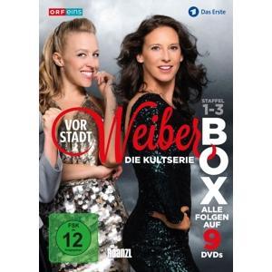 Drassl,Gerti/Proll,Nina/Ebm,Martina/Köstl - Vorstadtweiber: Staffel 1-3 Box - 9 DVD