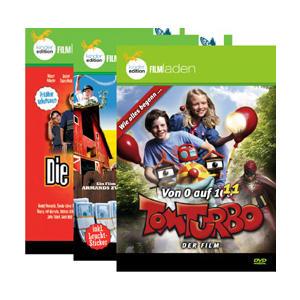 Kinderfilme - 3-Abenteuer-Package: Tom Turbo/Die kleinen Bankr - 3 DVD