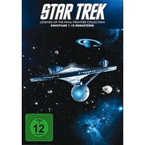 William Shatner,Leonard Nimoy,DeForest Kelley - STAR TREK I-X Box-Remastered - 10 DVD