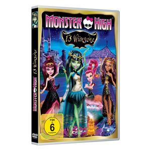 Various - Monster High-13 Wünsche - 1 DVD